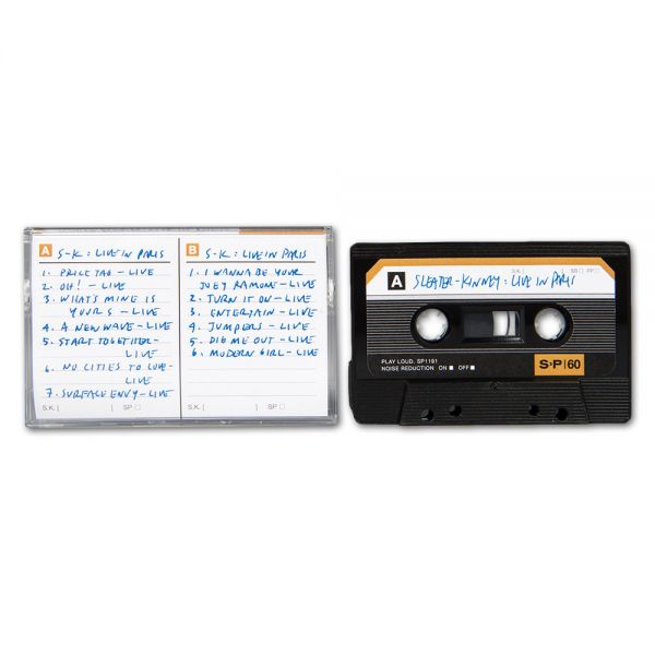Sleater-Kinney Live in Paris Cassette Tape