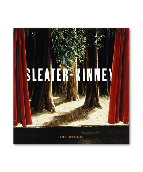 Sleater-Kinney The Woods CD