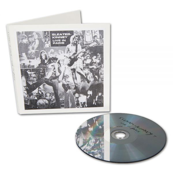 Sleater-Kinney Live in Paris CD