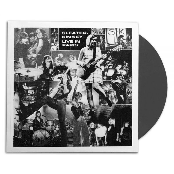 Sleater-Kinney Live in Paris Vinyl LP